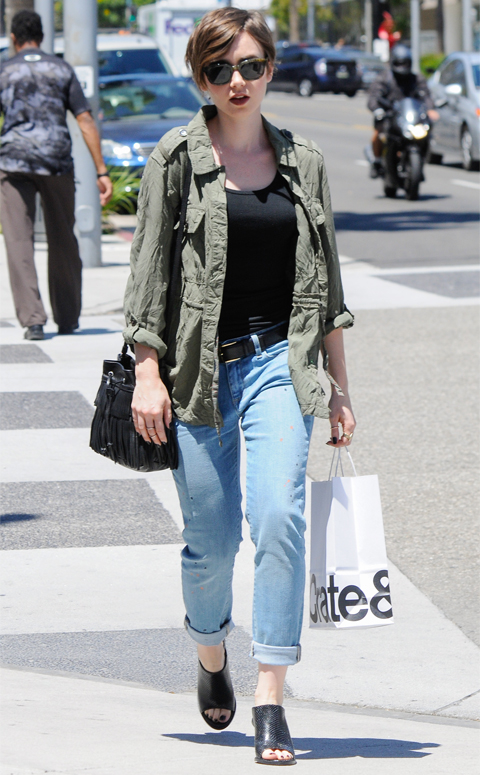 Celebrity Sightings In Los Angeles - April 28, 2015