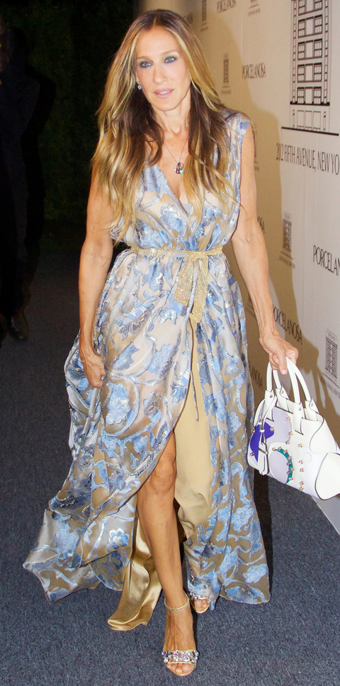 INF - Sarah Jessica Parker At The Porcelanosa Showroom Opening Party