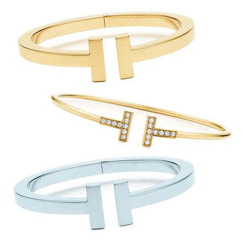 plus récent 8a099 f7493 I'm Obsessed: Tiffany & Co.'s Tiffany T Bracelets | InStyle.com