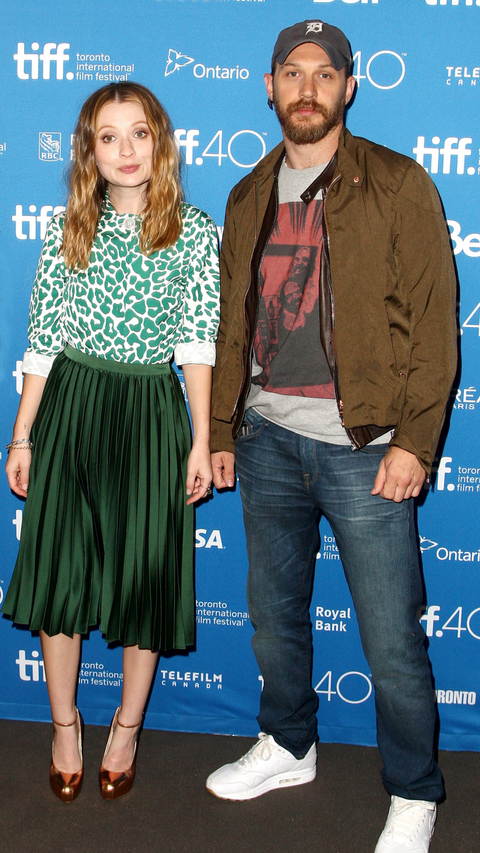 Emily Browning and actor Tom Hardy