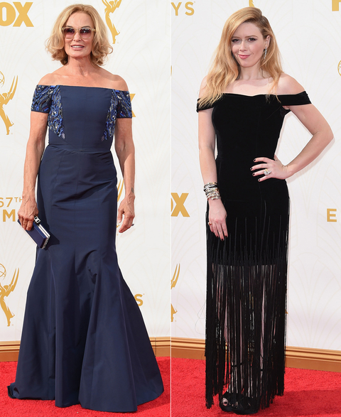 Emmys 2015 – Off Shoulder Gowns – Embed