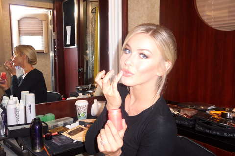 Julianne Hough DWTS Behind the Scenes