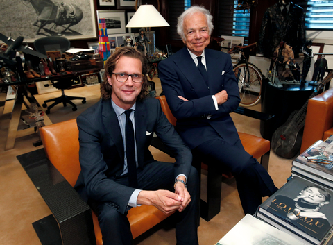 Ralph Lauren and Stefan Larsson