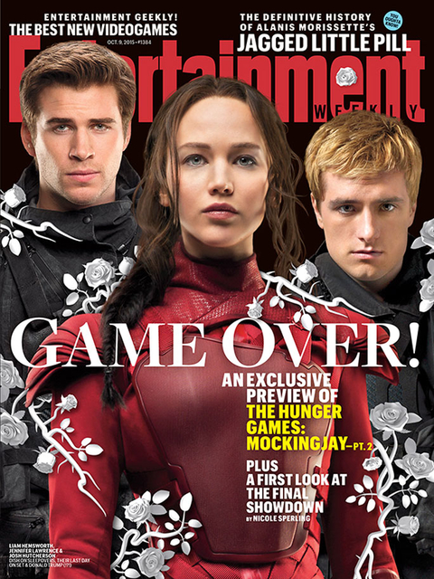 Hunger Games EW Cover
