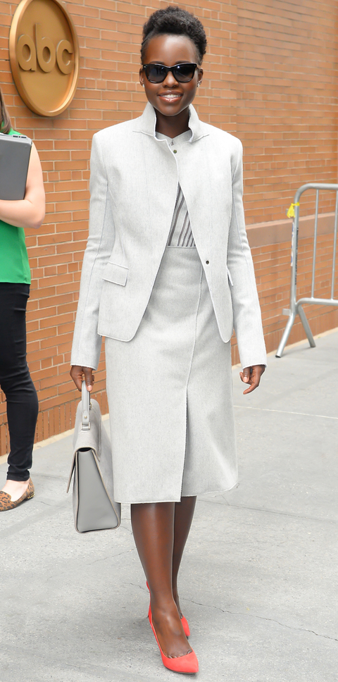 Celebrity Sightings In New York City - October 01, 2015