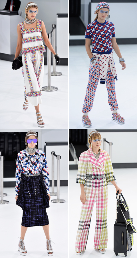 Chanel show - Paris Fashion Week SS 2016 - October 6, 2015 - Erics Post embed