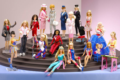 Barbie exhibit embed