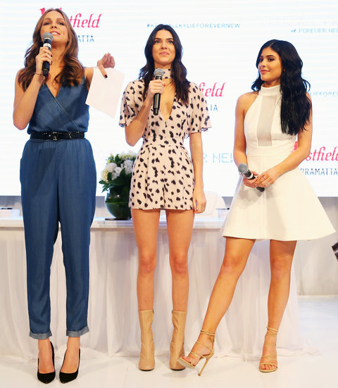 Kendall and Kylie Jenner - November 17, 2015