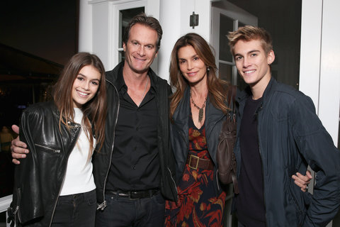 Cindy Crawford family