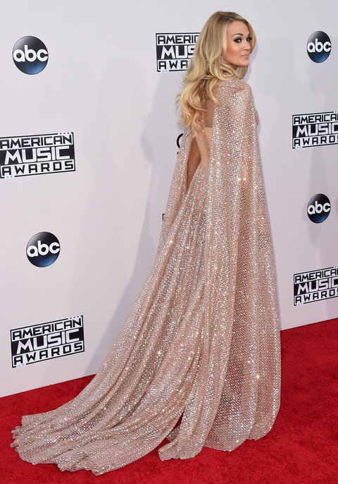 Carrie Underwood at 2015 AMAs
