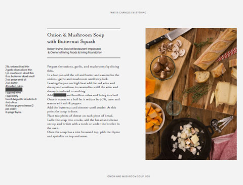 Charity Water Cookbook - Embed