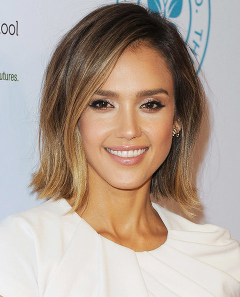 Jessica Alba's All-Over Glow