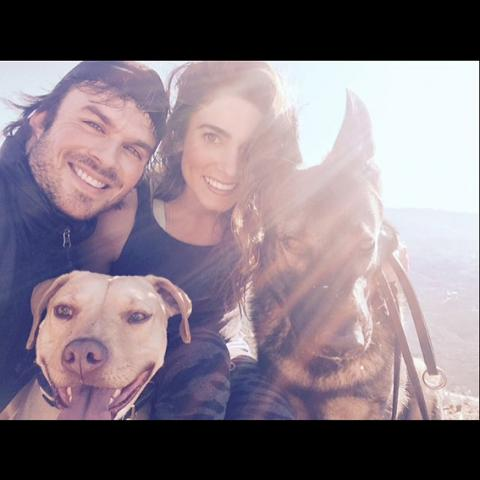 Cutest Couples Instagram - Ian Somerhalder and Nikki Reed