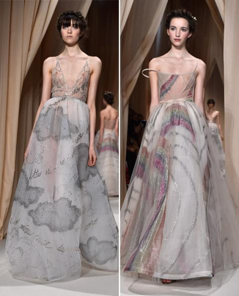 Couture FW adds - Valentino LEAD