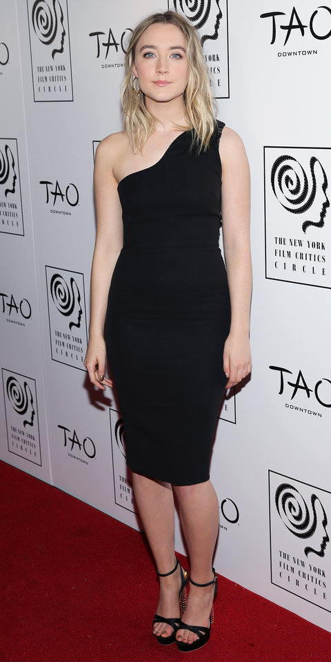 Actress Saoirse Ronan attends 2015 New York Film Critics Circle Awards at TAO Downtown on January 4, 2016 in New York City.