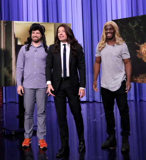 Jimmy Fallon NFL Players Reinactment
