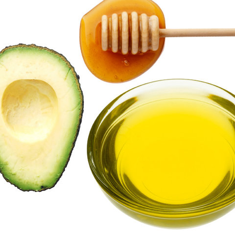Avocado, Honey, and Olive Oil Hair Mask