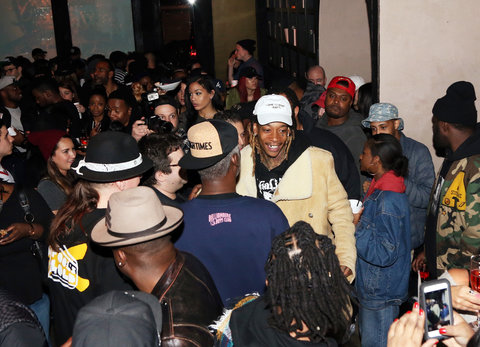 Wiz Khalifa Listening Party