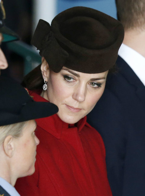 Kate Middleton's Outfit For RAF Search and Rescue Force Operations Ceremony in Wales
