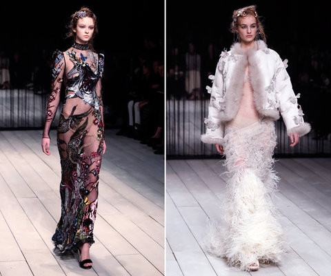 London Fashion Week Alexander McQueen Embed