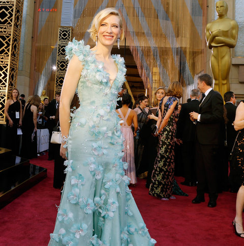 Actress Cate Blanchett attends the 88th Annual Academy Awards at Hollywood & Highland Center on February 28, 2016 in Hollywood, California.