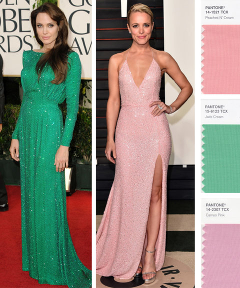 Best color dresses for brown hair
