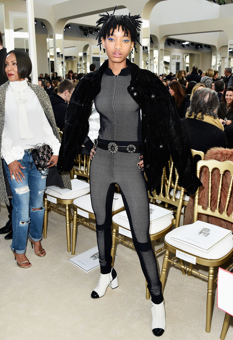 Willow Smith - Chanel - Paris Fashion Week Womenswear Fall/Winter 2016/2017 - March 8, 2016