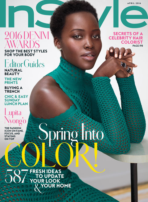 2016 Cover April Lupita Nyong'o Lead
