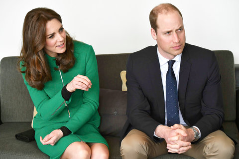 Kate Middleton Prince William Visit Organisations Working To Prevent Suicide Lead