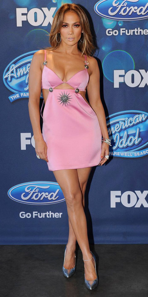 Jennifer Lopez - American Idol Look