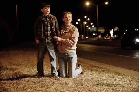 MIDNIGHT SPECIAL, from left: Jaeden Lieberher, Kirsten Dunst, 2016.