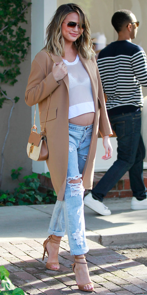 Chrissy Teigen | quotes about pregnancy | Quotes we