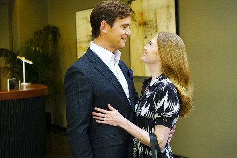 THE CATCH -  Pilot  - Alice Vaughan (Mireille Enos) and  (Peter Krause)