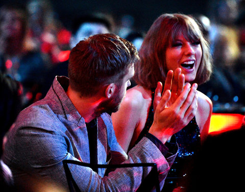 iHeartRadio Music Awards Embed 1 - Taylor Swift Calvin Harris