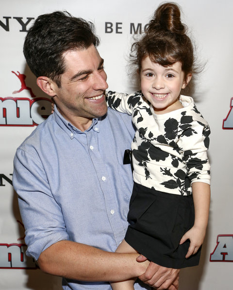 Max Greenfield and Daughter Embed