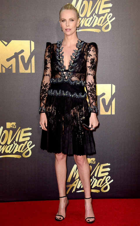 Charlize Theron at the 2016 MTV Movie Awards