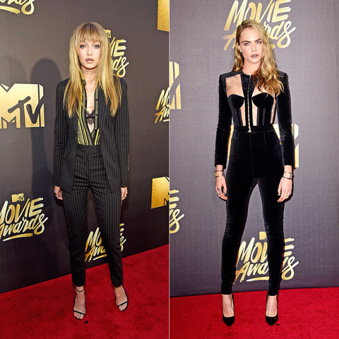 MTV Movie Awards: The Sexiest Fashion Trend EMBED 1