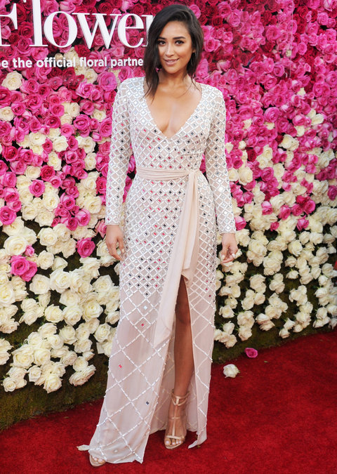 Shay Mitchell Mother's Day Premiere Arrivals - Embed 2016