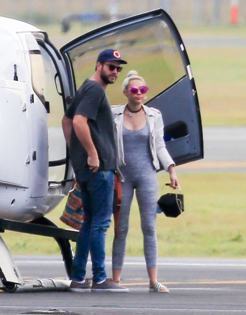 Liam and Miley Australia Embed