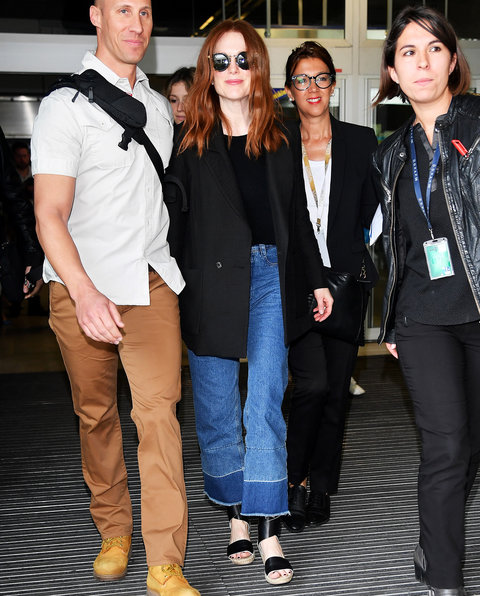 Julianne Moore -l 69th Cannes Film Festival at Nice Airport - May 10, 2016