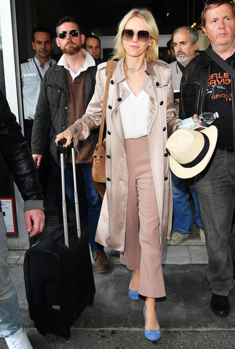 Naomi Watts - 69th Cannes Film Festival at Nice Airport - May 10, 2016