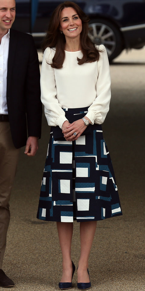 Prince William and Catherine, Duchess of Cambridge attend the official launch of Heads Together at The Olympic Park on May 16, 2016 in London, England.