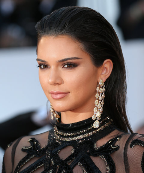 Kendall Jenner snake Cavalli dress Cannes