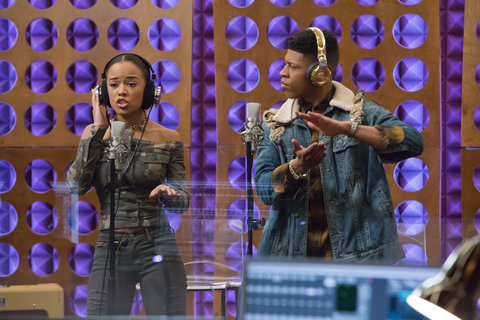 Serayah McNeil and Bryshere Gray  in the  The Lyon Who Cried Wolf  episode of EMPIRE airing Wednesday, May 4