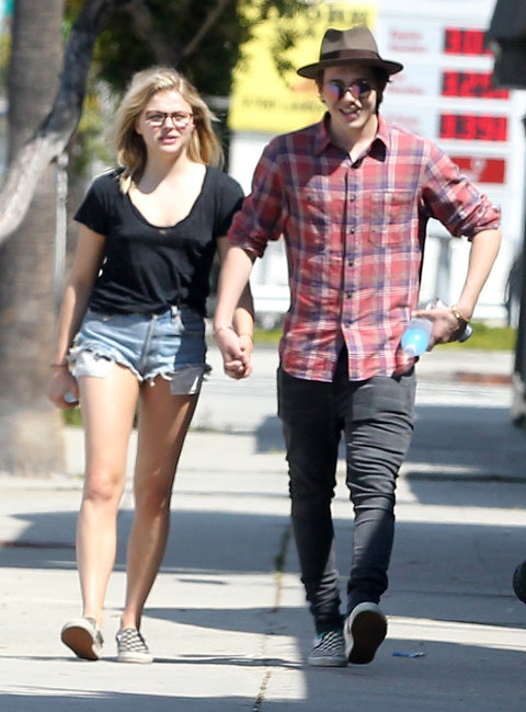 Chloe Grace Moretz and Brooklyn Beckham