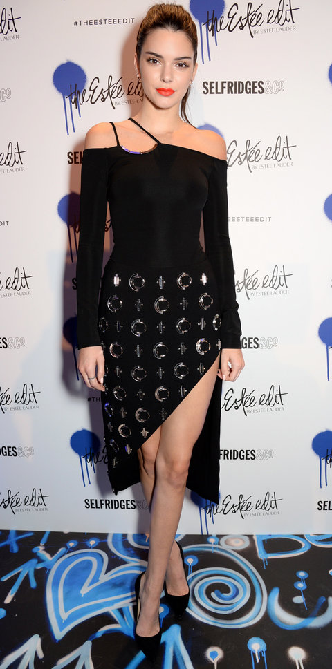 Kendall Jenner launches The Estee Edit at Selfridges London