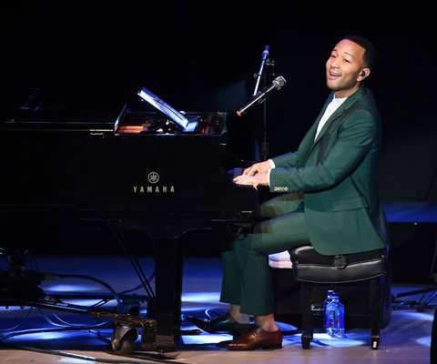 John Legend Performing Greek Theater - Lead 2016
