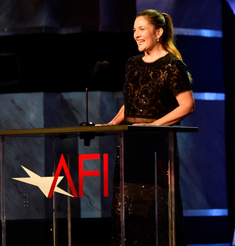 Drew Barrymore - onstage during American Film Institute's 44th Life Achievement Award Gala Tribute -June 9, 2016