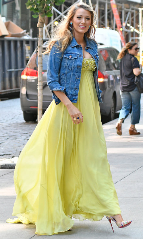 Blake Lively 39 S Best Maternity Style Moments