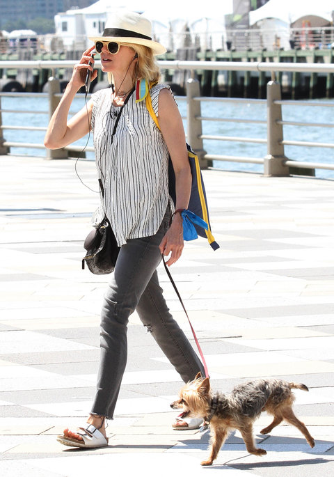 20 Dog-Walking Outfit Ideas Inspired By Celebrities
